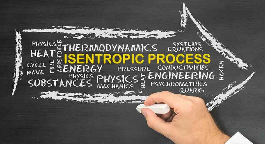 isentropic process, Isentropic Relations, Isentropic Compression - Isentropic Expansion, Isentropic Efficiency of Turbines, Isentropic Flow
