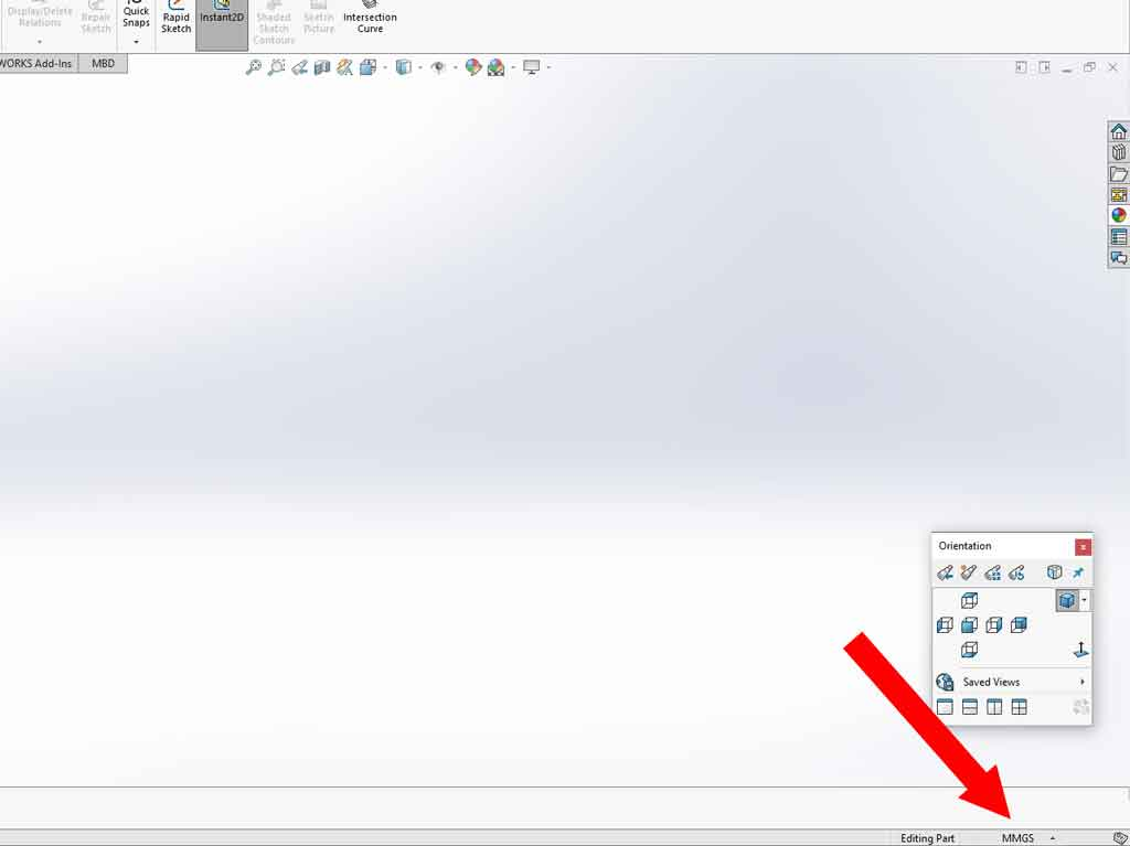 solidworks units: how to find out which units you are using and how to change them