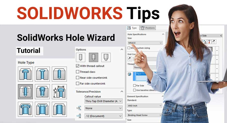 Solidworks hole wizard tutorial