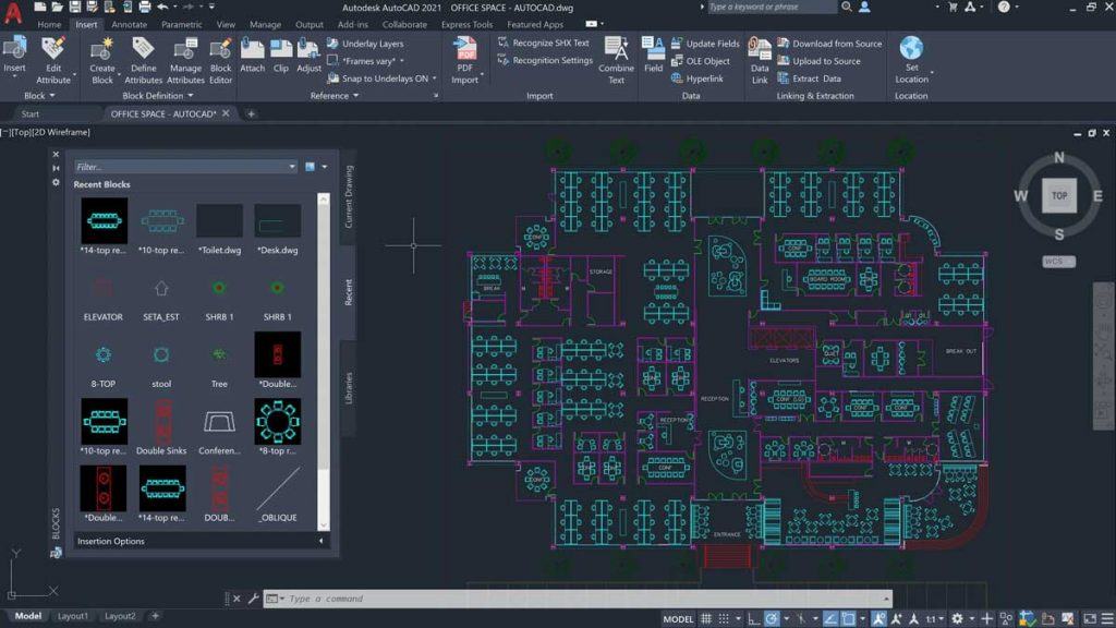 autocad-2021-blocks-palette