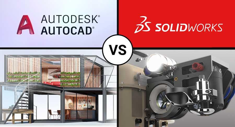 autocad vs solidworks