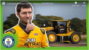 turbocharged JCB Fastrac. Guinness World record