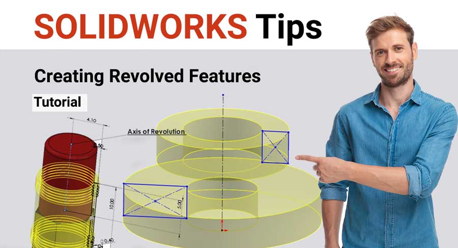 Revolved cut in solidworks tutorial step by step