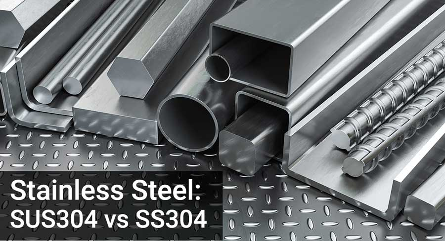 SUS304 vs SS304 Stainless Steel
