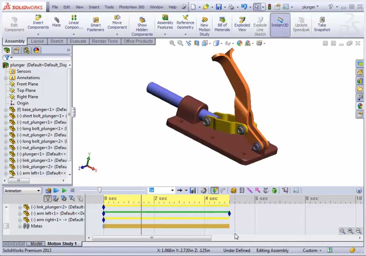 solidworks-motion-study-tutorial-2