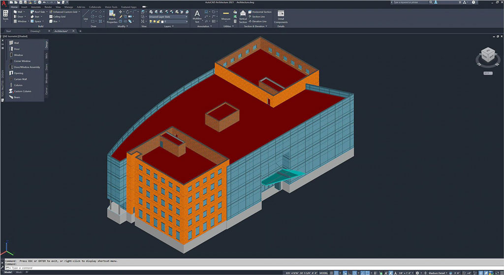 AutoCAD Architectural Tool Set Source: Autodesk