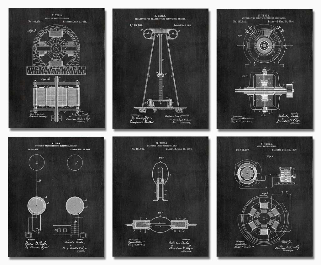 gift-for-engineers-tesla-patents