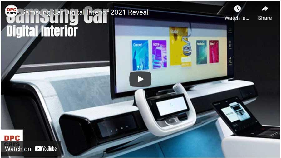Samsung-car-digital-interior video