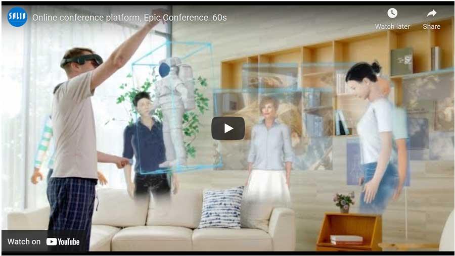 VR Online Conference Platform