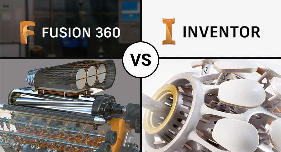 autodesk fusion 360 vs inventor