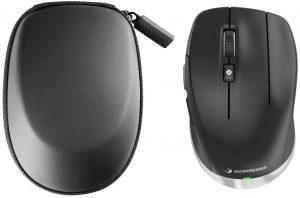 Best mouse for CAD: 3DConnexion CadMouse Compact Wireless 3DX-700082, Black