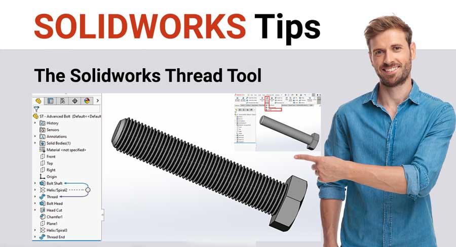 solidworks external thread tutorial