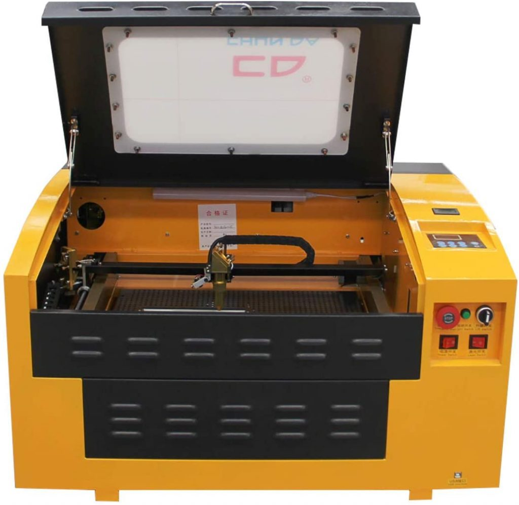 Best Laser engraver: TEN-HIGH CO2 Engraving Machine, 40W 300x400mm Laser Engraving Machine