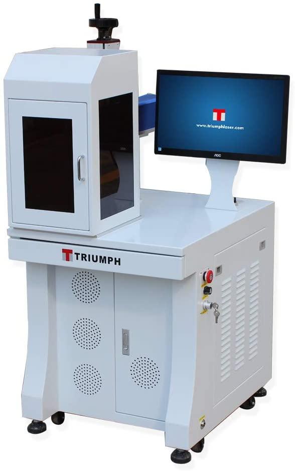 Best Laser engraver: Triumph 50w Fiber Laser Marking deep Engraving Machine