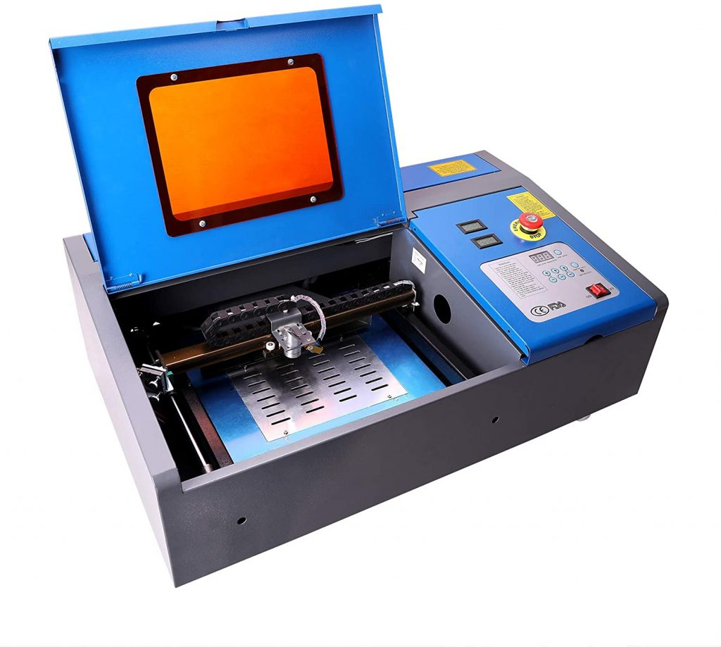 Best Laser engraver: OMTech 40W CO2 Laser Engraver Cutter with 12 x 8in Work Area