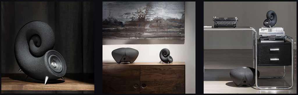 deeptime 3d printed speakers