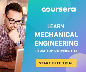 Coursera mechanical engineering courses