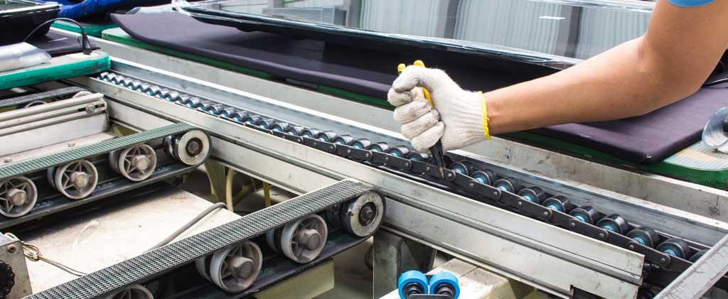 conveyor belt maintenance and repair