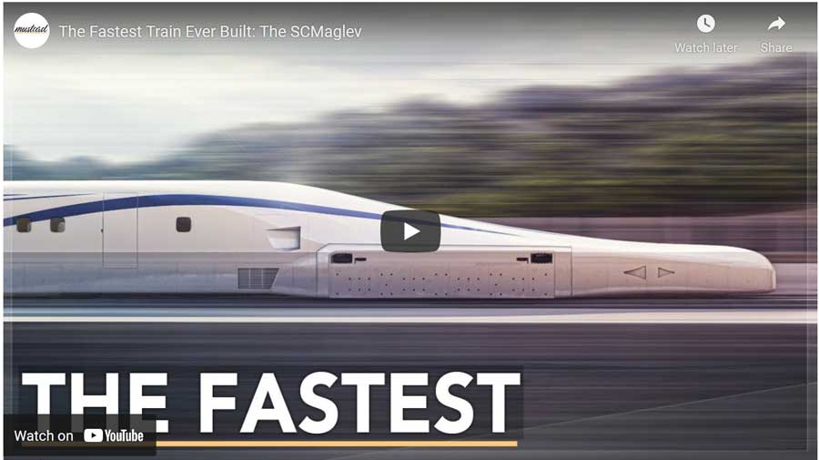 the fastest train ever built