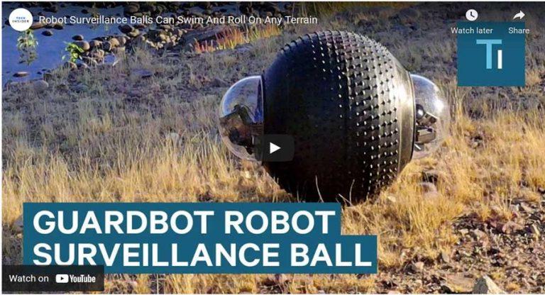 guardbot survellance robot